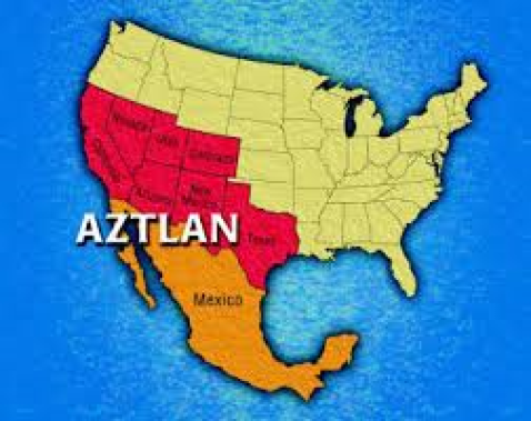 Please compare the similarities between the originally announced Jade Helm states and the states associated with Reconquista de Aztlan.  Given the history of this administration does any truly believe that the coincidence of states in these two maps is an accident?