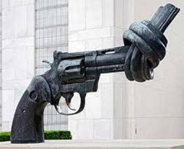 The Gun Ban Treaty took effect on December 24, 2014