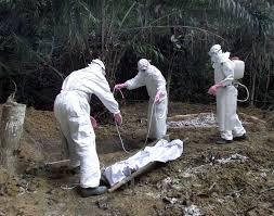 ebola burying dead bodies