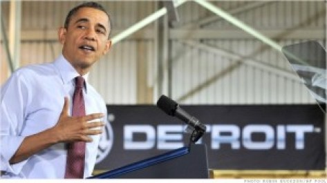 In the Obama world of  corporate handouts, Obama refuses to help the people of Detroit.