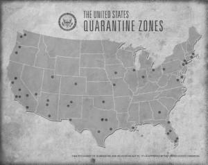 quarantine zones