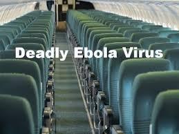 ebola by plane
