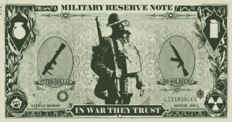 """The """"military reserve note"""" is how the BRICS like to refer to the dollar and it is their main target for assassination."""