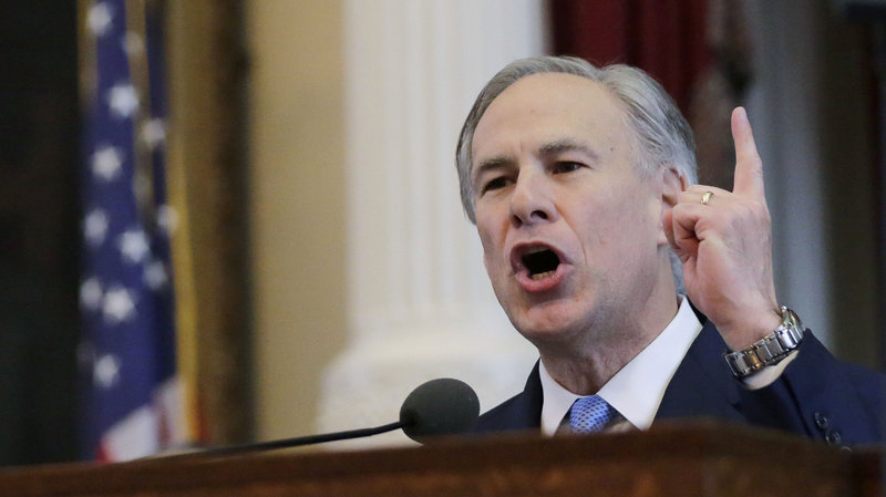 Texas Republican Gov. Greg Abbott ordered the Texas National Guard to monitor a joint U.S. Special Forces training taking place in Texas, prompting outrage from some in his own party. Did you see this story on Fox and Friends? Eric Gay/AP
