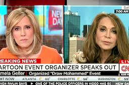 "The founder and organizer of the ""Draw a prophet"" contest, Pam Geller."