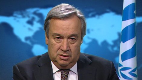 Antonio Guterres is the head of the UNHCR and the Muslim invasion of 190 American communities. The program excludes all Christians.