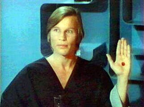 In the movie, Logan's Run, when one reaches age 30, an implanted chip turns red and the person is exterminated.