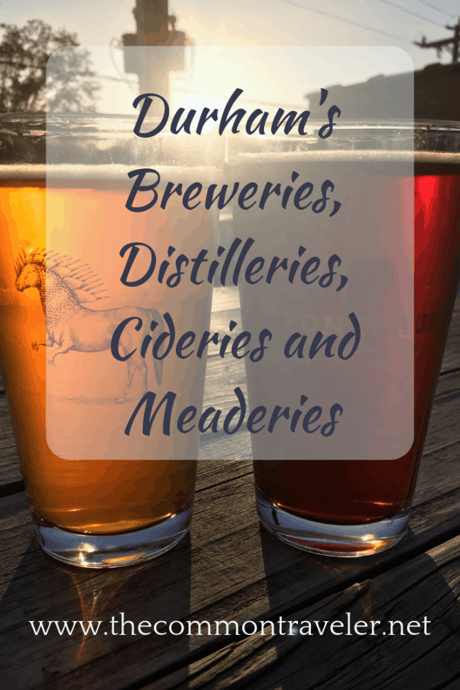 Your all-inclusive list of Durham's Breweries, Distilleries, Cideries and Meaderies to visit while in Durham, NC, USA.