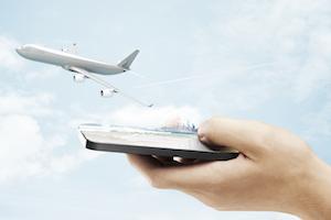 mobile air bookings