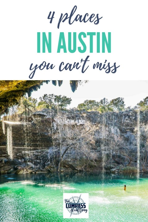4 Places You Can't Miss in Austin & Texas Hill Country - Street Art, Murals, Thinkery, Hamilton Pool Preserve, Jacob's Well