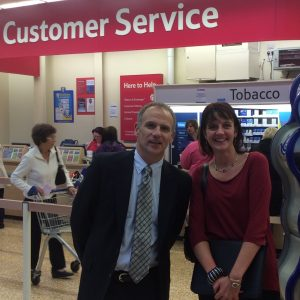 Dave Lewis Tesco CEO & The Complaining Cow