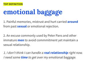 Emotional Baggage Definition