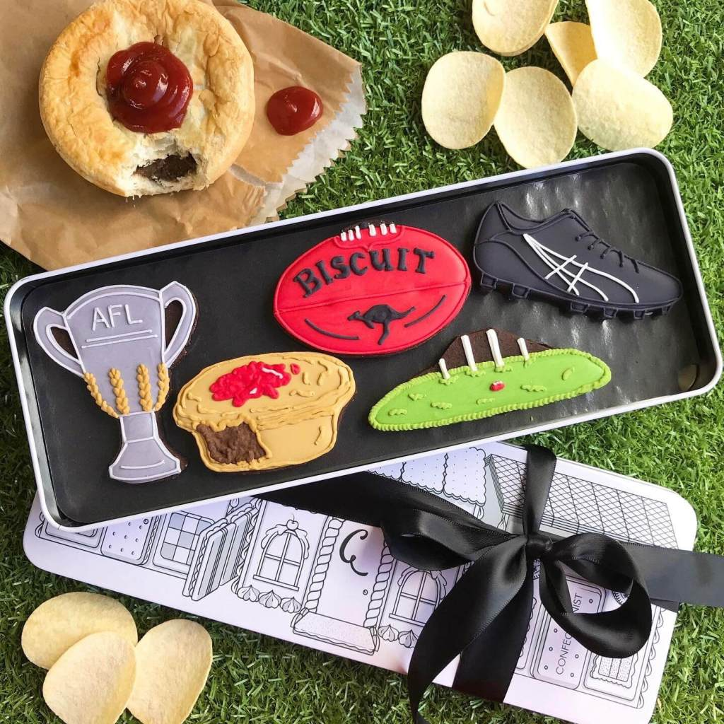 Footy Set with pie and chips