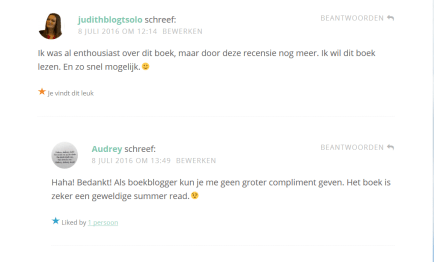 Lieve Comments