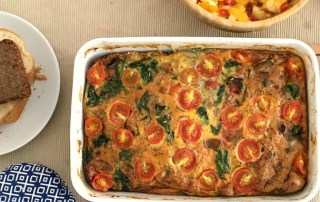 Egg bake recipe with kalonji seeds