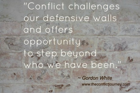 Quote by Gordon White from 'Longing For the Enemy' - a challenge to the self