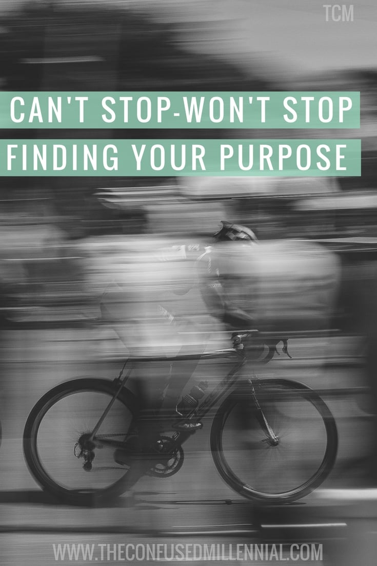 Never stop working for your dreams. Daily Motivation and inspiration is so important. I love this quote. Don't give up on your dreams. Can't stop, won't stop until I find and fulfill my life's purpose. How can you find and live your purpose?- The confused millennial.