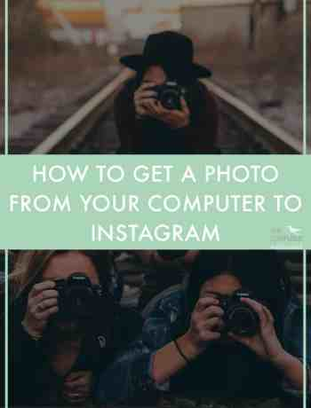 "Instagram tip: How do you get your photos or graphics from your computer to your phone to upload them on Instagram? There are a lot of ways to get your photo from your computer to Instagram! Something to keep in mind, is ideally you wouldn't email it to yourself since you will lose some resolution this way and your photo could end up looking grainy. Keep in mind that each of these require a few steps, nothing will magically zap a photo to your Instagram (even apps that say they are integrated with Instagram and will ""post to Instagram for you"" still require you to go in and copy and push a button to get it onto Instagram at the time you want to post it due to Instagram's policies.) - The Confused Millennial"