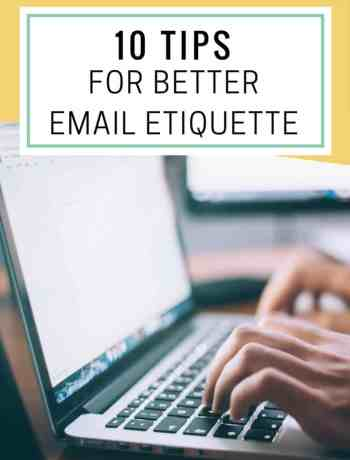 10 tips for better email etiquette - the confused millennial, millennial blog