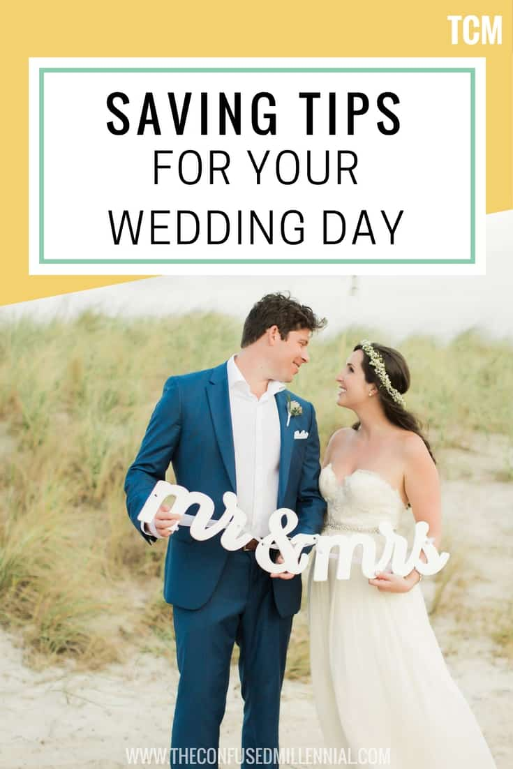 Super Simple Savings Tips For Your Wedding - the confused millennial, millennial blog