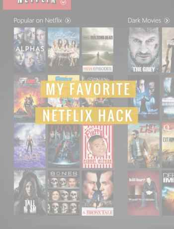 """Struggling to get through your netflix queue? Wish netflix would give better suggestions based on your mood? Life hack, read this blog post on My favorite Netflix Hack to get better suggestions and never feel """"Stuck"""" or """"overwhelmed"""" when trying to figure out what to binge on next. — The Confused Millennial"""