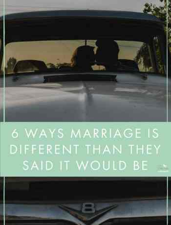 "When you've been with someone a while, people like to give you advice and forewarn you about the ""realities"" of married life. Tidbits about how to handle finances, how to navigate serious aruments and how to plan for the future, but at the same time, it's incredibly misleading. I can think of 6 things people told be about marriage that didn't turn out to be true... - The confused millennial"