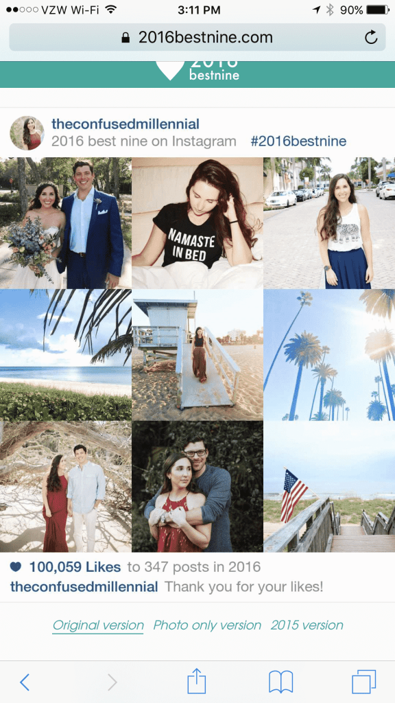 best nine instagram the confused millennial