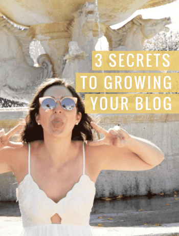 How to grow your lifestyle blog to being successful with 3 secrets - the confused millennial, millennial blog