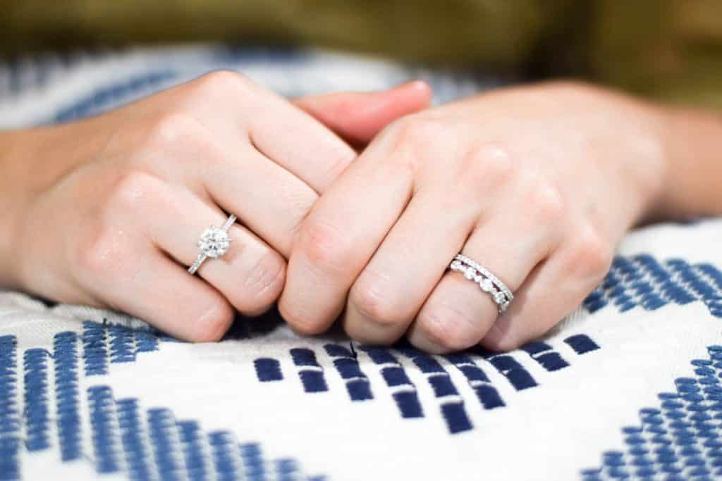 how to take care of your engagement and wedding rings so they last forever #millennialblog
