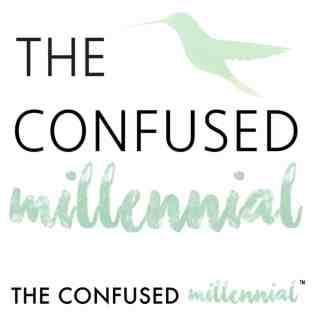 the confused millennial millennial blog logo