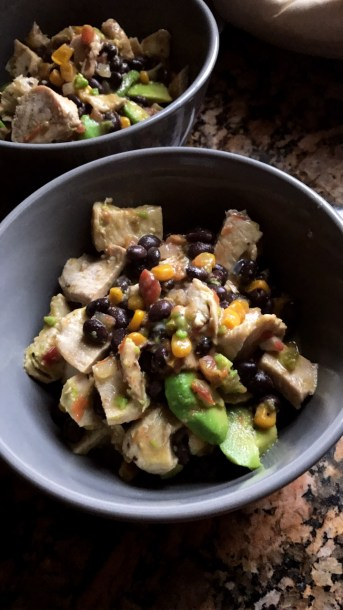 Healthy Mexican Style Chicken Dish