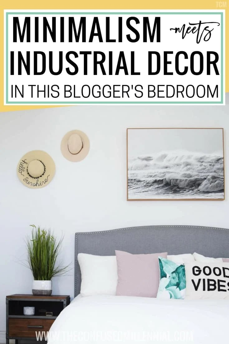 Minimalism Meets Industrial Decor In This Blogger\'s Bedroom ...