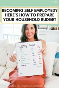 How To Prepare Your Household Budget When Transitioning To Becoming An Entrepreneur, self employed budget, #selfemployed, #selfemployment, #entrepreneur, #entrepreneurship, #entrepreneurshipbudget, #selfemployedbudget