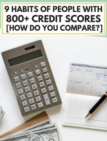 9 Habits Of People With 800+ Credit Scores [How Do You Compare?], tips on how to get an 800 credit score, ways and ideas to rebuild and restore your credit, how to improve credit report, #creditrepair, #creditscore, #personalfinance, #finance, #financialfreedom, #financialindependence