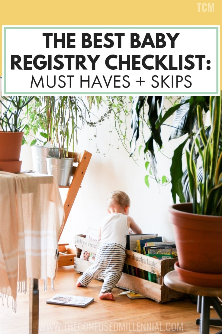 The Best Baby Registry Checklist: Must Haves + Skips For A Minimalist, tips for getting only the essentials on amazon, gender neutral items to put on baby registry for new mom, #babyregistry, #babyregistrychecklist, #newmom, #firsttimemom