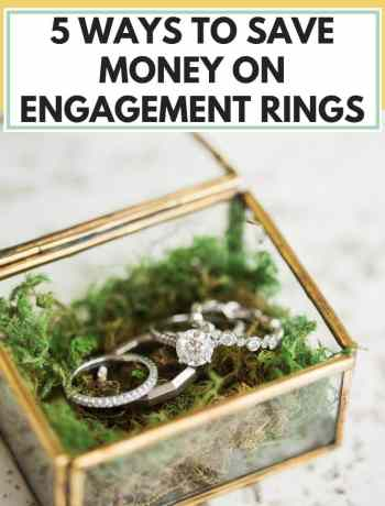 5 Ways To Save Money On Engagement Rings, simple unique non traditional engagement rings in oval cushion emerald pear shaped round or princess cut, three stone or solitaire engagement ring? modern take on unusual engagement ring, engagement ring and wedding ring sets, engagement ring with wedding bands, engagement ring cheap alternative, #engagementring, #engagementrings, #weddingbands, #weddingband