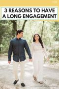 3 reasons to have a long engagement, wedding planning tips, advice for the bride planning her wedding, getting engaged, now what? wedding planning checklist on a budget, how to have a happy and healthy engagement without stress, stress free wedding planning, #weddingplanning, #engagement, #longengagement