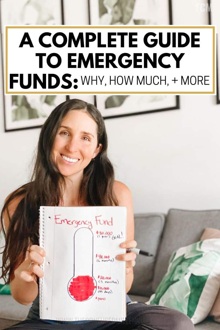 A Complete Guide To Your Emergency Fund [What, Why, How Much, + Where To Park It?], emergency fund savings plan biweekly, savings plan tracker, how to build an emergency fund and reach your for 1000, how to start a emergency fund and what amount of money should you save into it, what's wrong with the baby steps, ideas for where to park emergency fund, hacks for building an emergency fund and money saving tips, #emergencyfund, #emergencysavings, #savingsplan