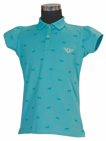 TuffRider MADELYN POLO SHIRT CHILD S/S