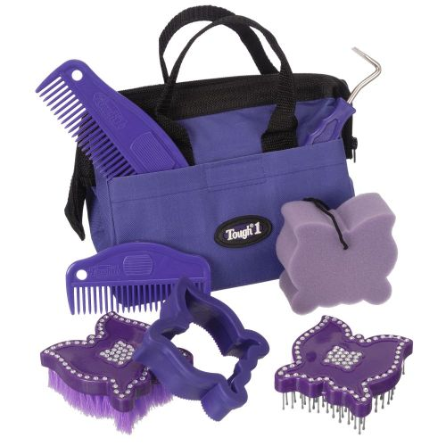 8 Piece Crystal Butterfly Grooming Kit