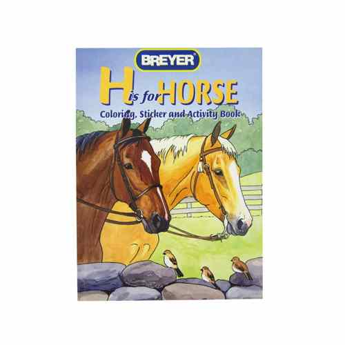 "Breyer ""H"" is for Horse Coloring"