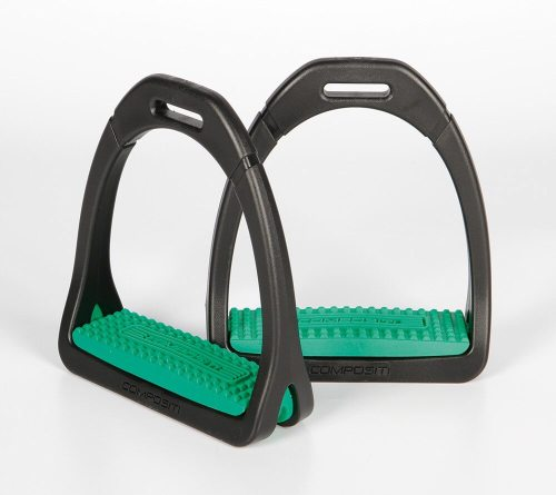 Compositi Premium Stirrups Green