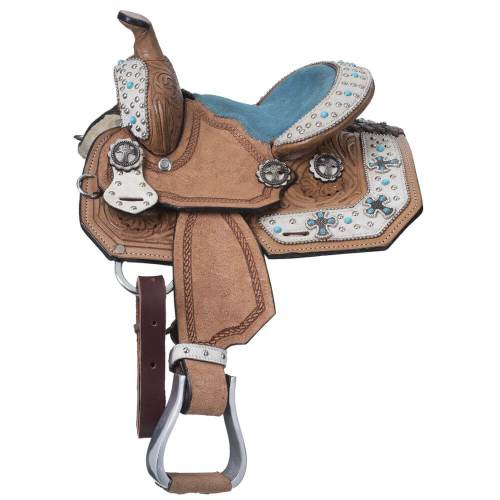 Desert Hope Miniature Barrel Saddle