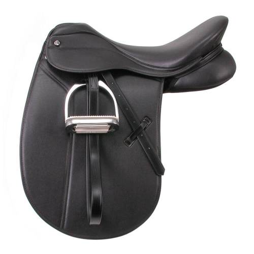 EquiRoyal Newport Dressage Saddle Wide Tree