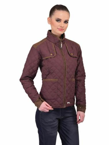 Equine Couture Cory Jacket Ladies WINE BLUE