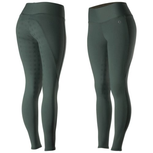 Horze Juliet Women's HyPer Flex Tights FS Midnight Green
