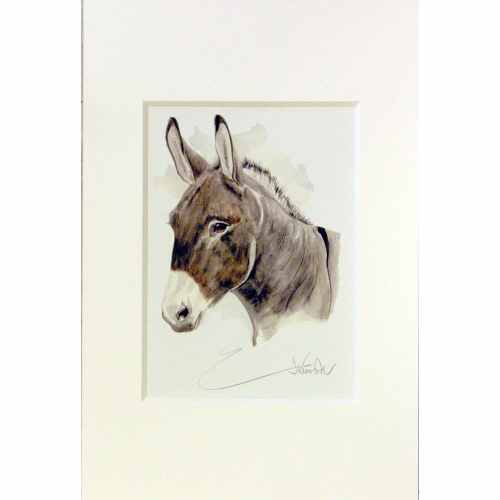 Jan Kunster Print - Benjamin Donkey Small
