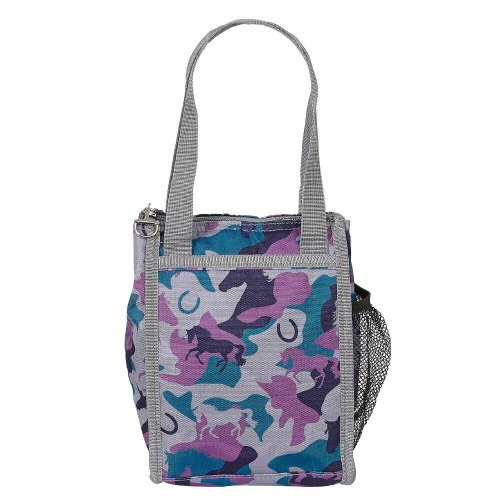 Lunch Sack Grey and Blue Camo