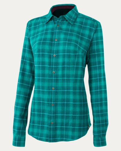 Noble Outfitters Downtown Flannel Shirt Spruce