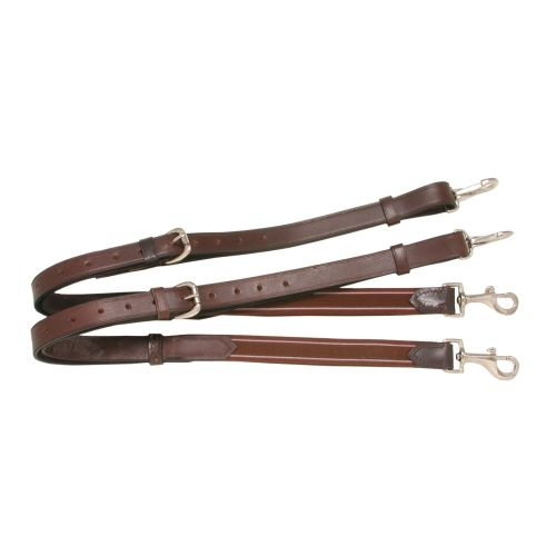 Performers 1st Choice Leather w/ Elastic End Side Reins